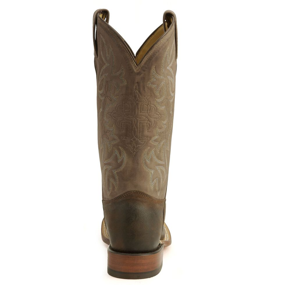 Tony Lama Cross Inlay Cowgirl Boots, Chocolate, hi-res