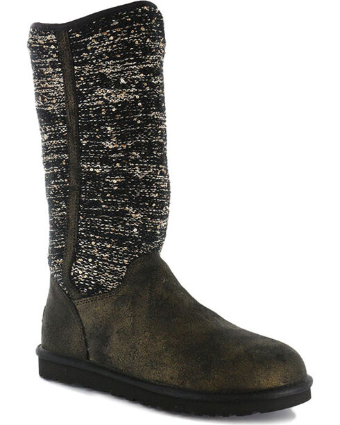 UGG® Women's Camaya Casual Boots, Black, hi-res