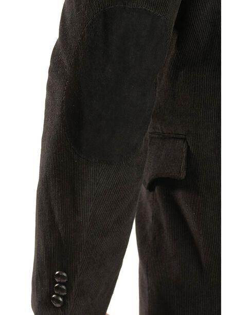 Circle S Corduroy Sport Coat - Big and Tall, Black, hi-res