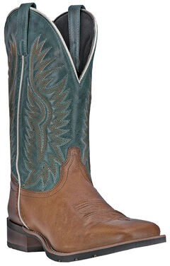 Laredo Cowboy Approved Jhase Cowboy Boots - Square Toe  , , hi-res