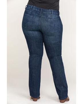 Wrangler Women's Straight Leg Jeans - Plus Size , Indigo, hi-res