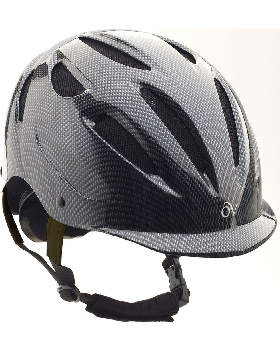 Ovation Women's Protege Riding Helmet, Grey, hi-res