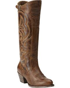 Ariat Wanderlust Tall Cowgirl Riding Boots - Medium Toe, , hi-res