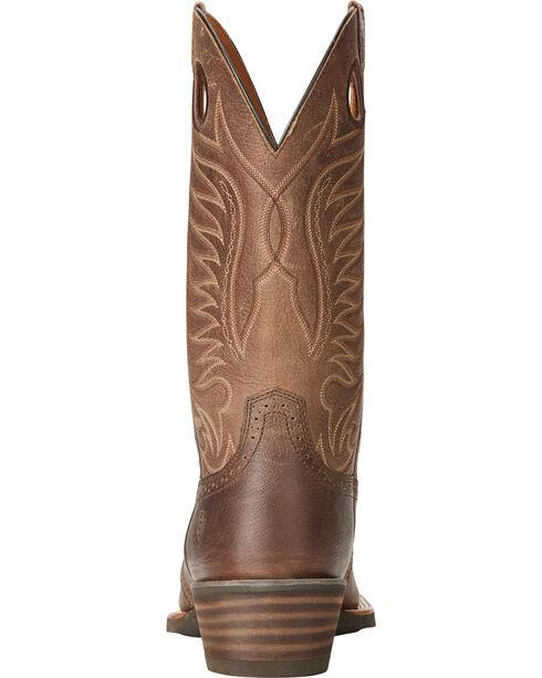 Ariat Men's Heritage Hotshot Cowboy Boots - Square Toe, Brown, hi-res