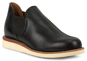 Chippewa Men's 1967 Original Black Romeo Shoes, Black, hi-res
