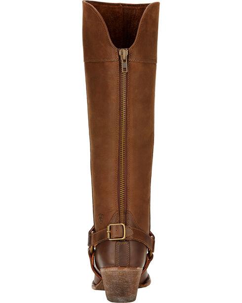 Ariat Sadler Distressed Women's Riding Boots - Round Toe, Distressed, hi-res