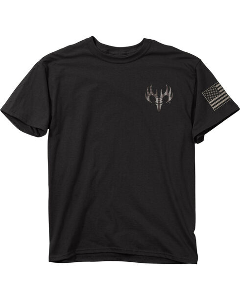 Buck Wear Men's Black Defend My Rights Tee , Black, hi-res
