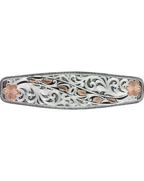 Montana Silversmiths Winding Leaves in Fall Barrette, Multi, hi-res