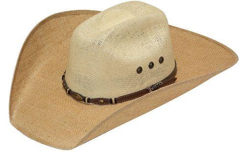 Twister 8X Jute Concho Hat Band Straw Cowboy Hat, Tan, hi-res