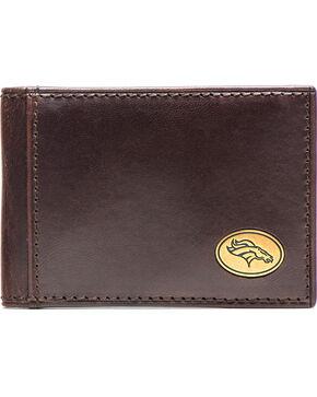 Jack Mason Men's Denver Legacy Flip Bifold Wallet , Brown, hi-res