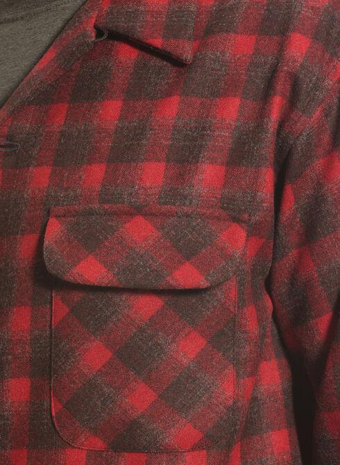 Pendleton Men's Dark Red Wool Plaid Board Shirt , Red, hi-res