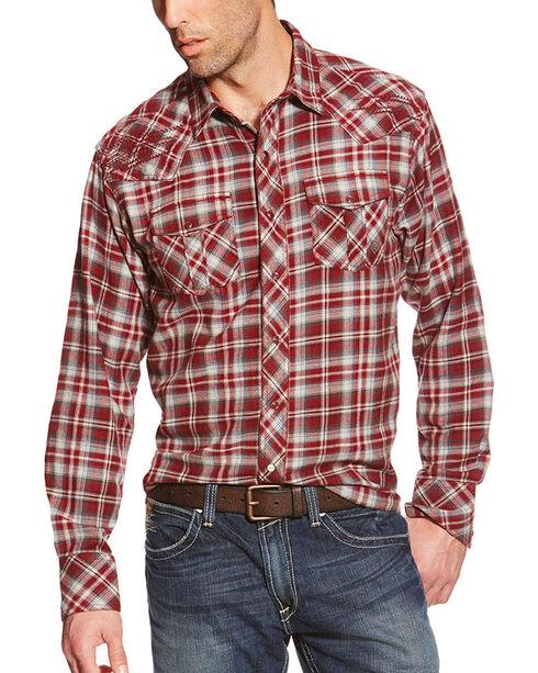 Ariat Men's Norris Long Sleeve Plaid Shirt, Multi, hi-res