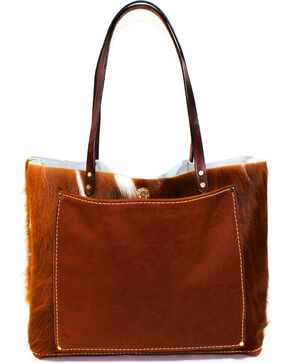 SouthLife Supply Women's Cowhide Unstructured Tote, Multi, hi-res