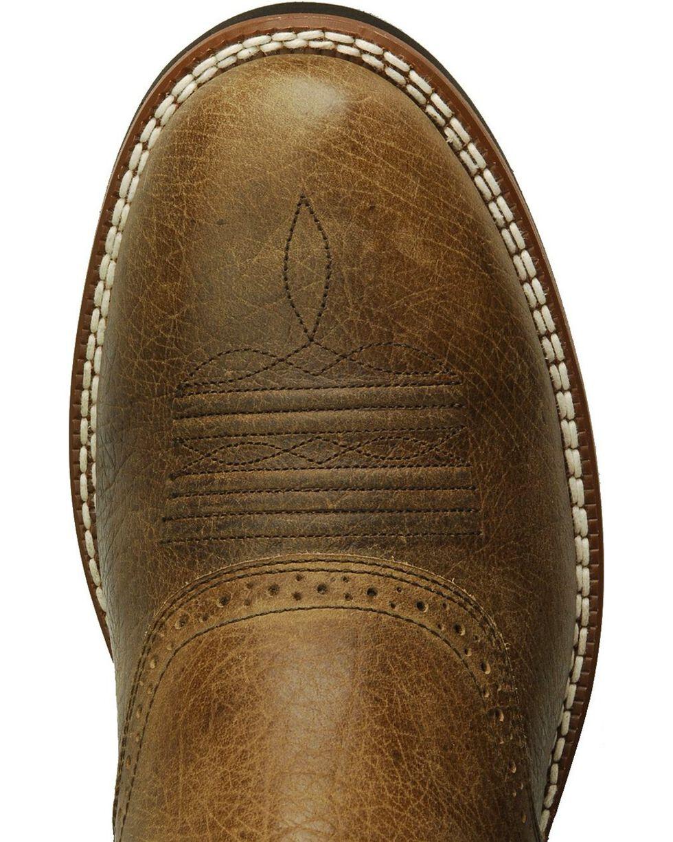 Ariat Heritage Crepe Cowboy Boots, Earth, hi-res
