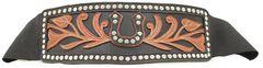 Ariat Horseshoe Studs Wide Belt, , hi-res