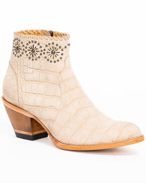 Idyllwind Women's Dreamer Booties - Round Toe, Natural, hi-res