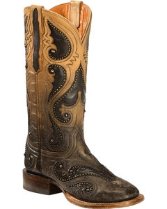 Lucchese Pearl Ombre Rita Cowgirl Boots - Square Toe , , hi-res