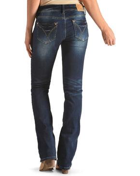 Grace in LA Women's Indigo Simple Pocket Jeans - Boot Cut , Indigo, hi-res