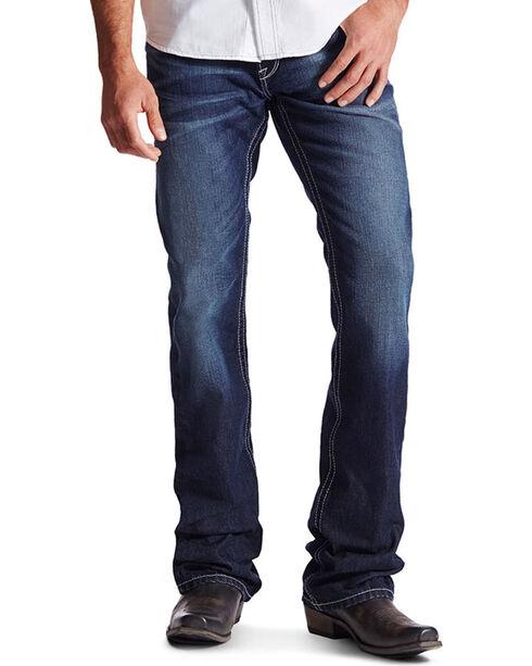 Ariat Men's M6 Low Rise Slim Boot Cut Jeans, Indigo, hi-res