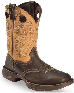 Durango Rebel Saddle Cowboy Boots - Square Toe, , hi-res