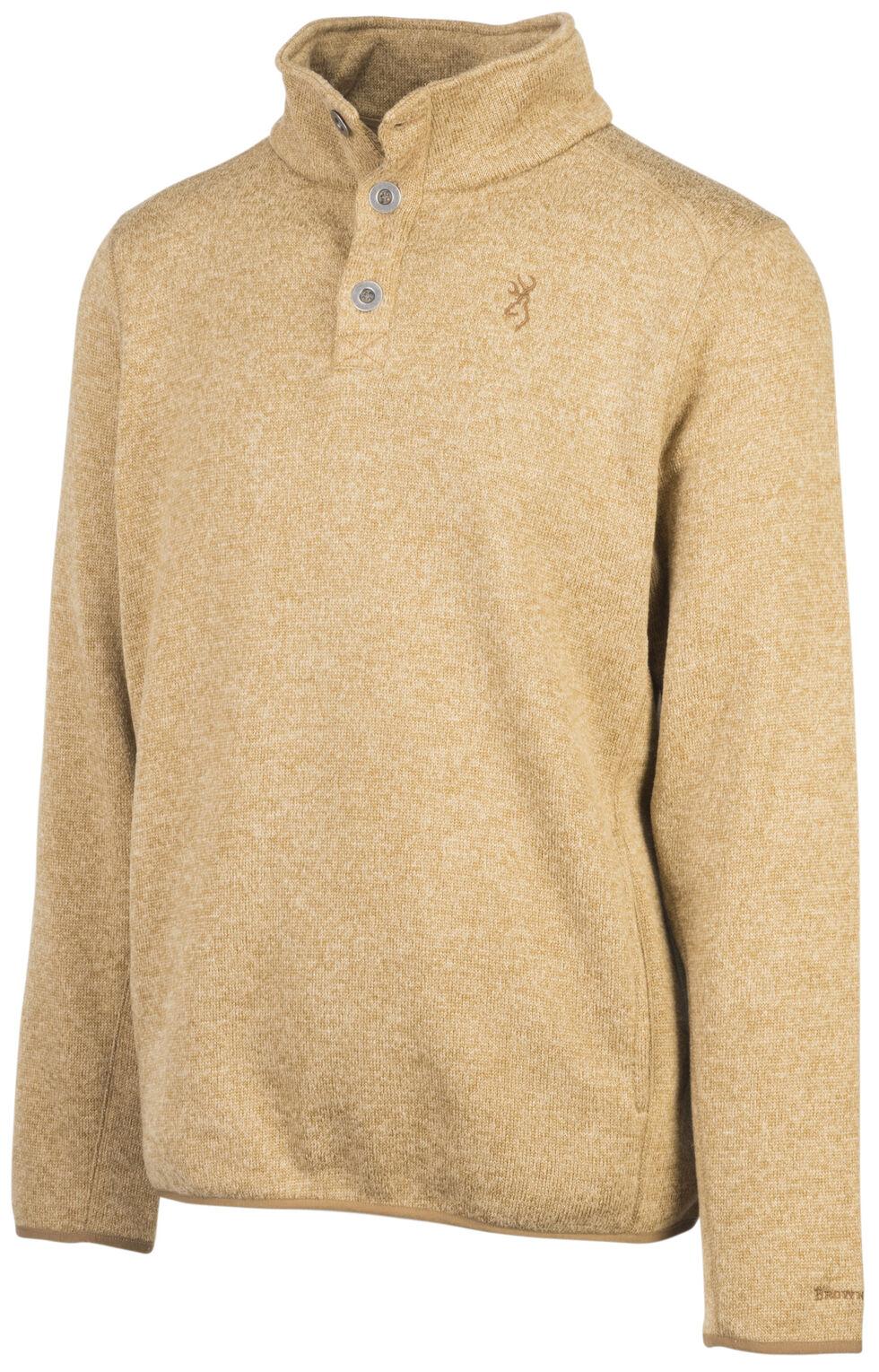 Browning Men's Tan Gilson Sweater , Tan, hi-res