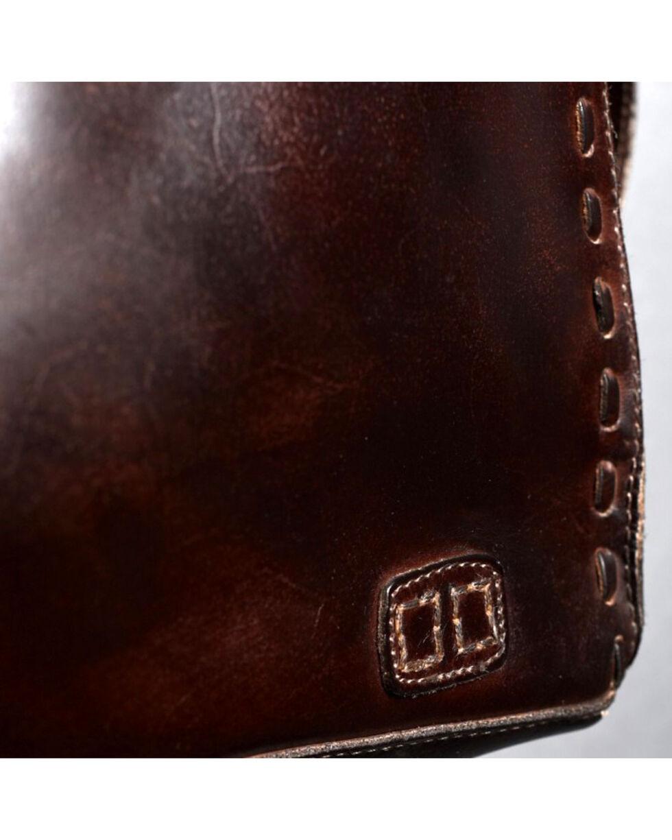 Bed Stu Women's Rockaway Teak Rustic Handbag, Dark Brown, hi-res