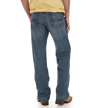 Wrangler Men's Blue 20X No. 33 Relaxed Straight Leg Jeans - Big, Blue, hi-res