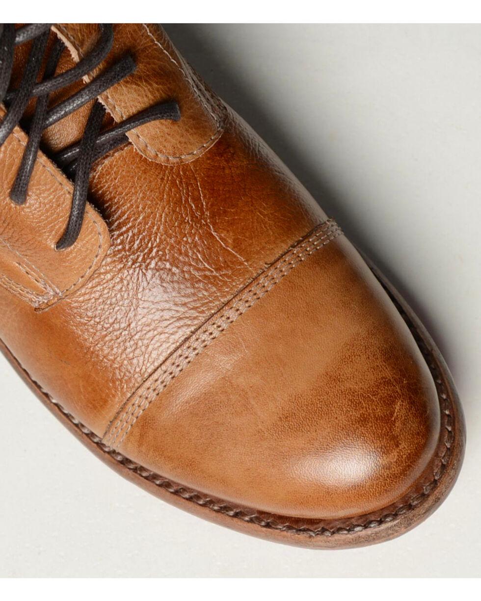 Bed Stu Women's Bonnie Side Zip Short Boots - Round Toe , Tan, hi-res