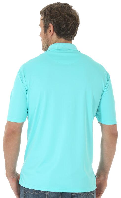 Wrangler Men's Aqua 20X® Advanced Comfort Performance Polo, Aqua, hi-res