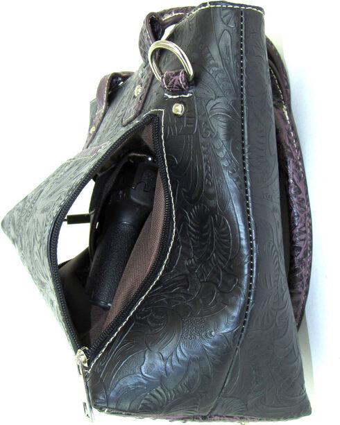 Savana Women's Fierce Tooled Professional Carry Handbag , , hi-res