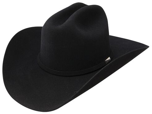 Resistol George Strait Cowboy Rides Away Fur Felt Cowboy Hat, Black, hi-res