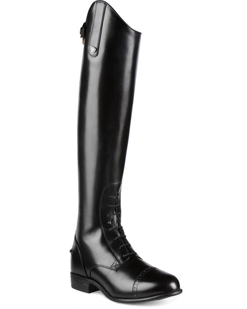 Ariat Women's Quantum Crowne Pro Field Zip Riding Boots, Black, hi-res