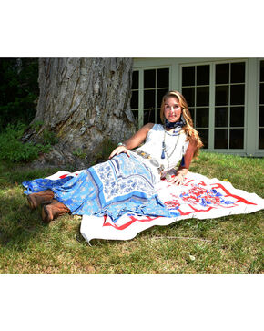 Tasha Polizzi Women's Wild Rag Skirt , Blue, hi-res