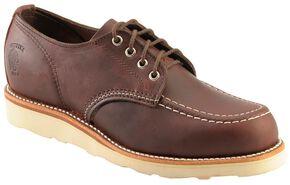 Chippewa Cordovan Oxford Shoes, Cordovan, hi-res
