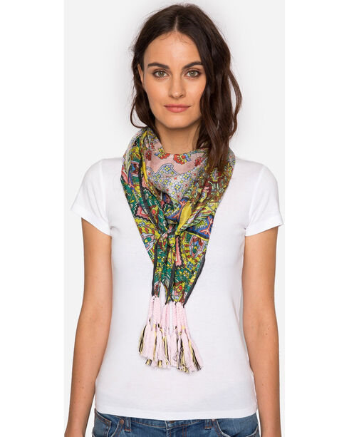 Johnny Was Women's Indianio Scarf, Multi, hi-res