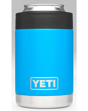 Yeti Tahoe Blue Rambler Colster , Blue, hi-res
