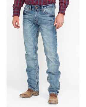Wrangler Rock 47 Men's Denim Jeans , Blue, hi-res