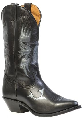 Boulet Challenger Cowboy Star Cowboy Boots, Black, hi-res