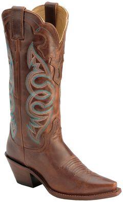 Justin Saddle Torino Cowgirl Boots - Snip Toe, , hi-res