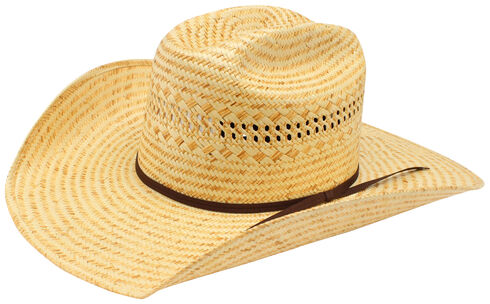 Ariat Poly Rope Americana Straw Cowboy Hat, Natural, hi-res