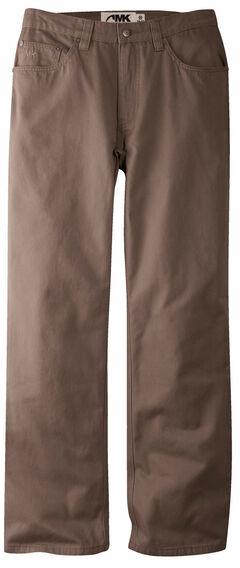 Mountain Khakis Men's Canyon Twill Classic Fit Pants, Dark Brown, hi-res