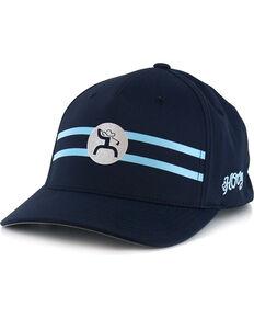 buy popular 1b73f 7ddd6 HOOey Mens Perf Golf FlexFit Ball Cap, Blue, hi-res