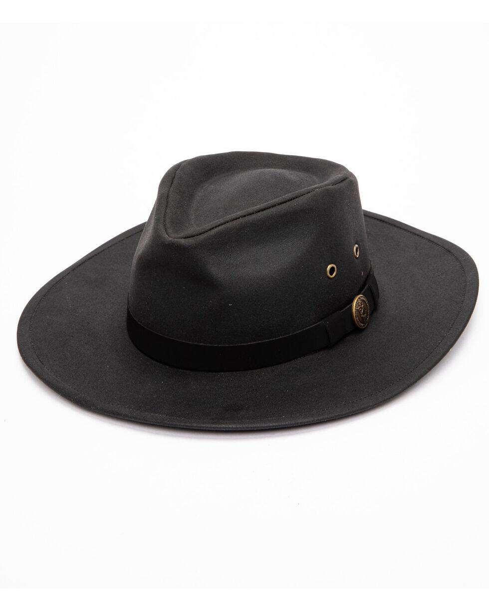 Outback Trading Co. Kodiak Oilskin Hat, Black, hi-res