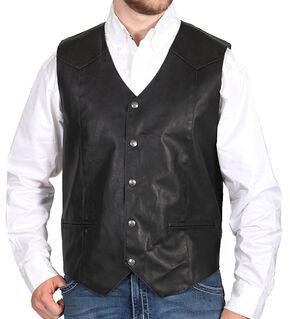 Cody James Men's Deadwood Vest, Black, hi-res