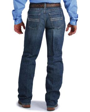 Cinch Men's Grant Medium Stonewash Relaxed Jeans - Boot Cut, Indigo, hi-res