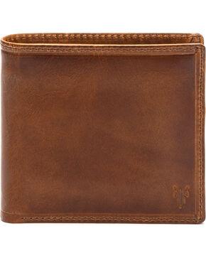 Frye Men's Logan Billfold Wallet , Cognac, hi-res