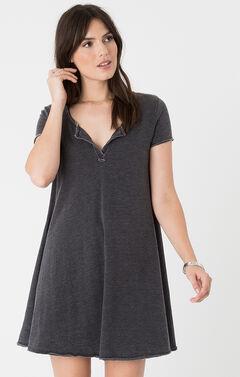 Z Supply Tempo Dress, Black, hi-res