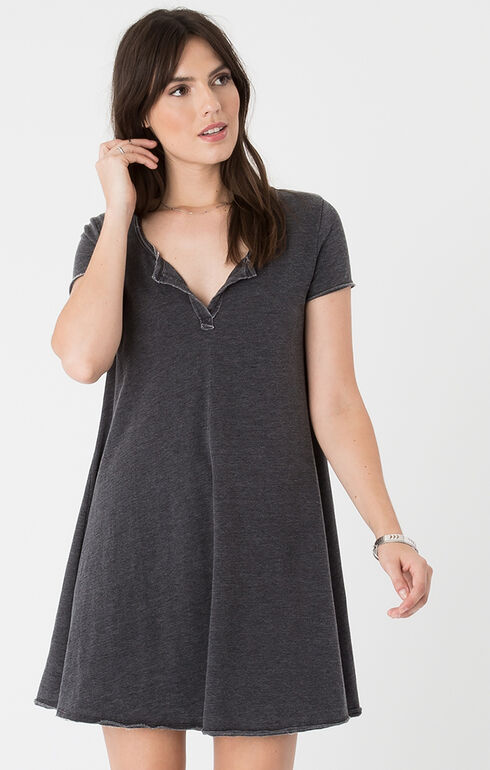 Z Supply Tempo Dress, Black, hi-res