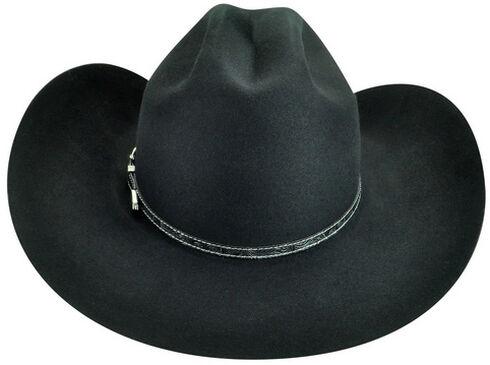 Bailey Men's Roderick 3X Premium Wool Felt Cowboy Hat, Black, hi-res