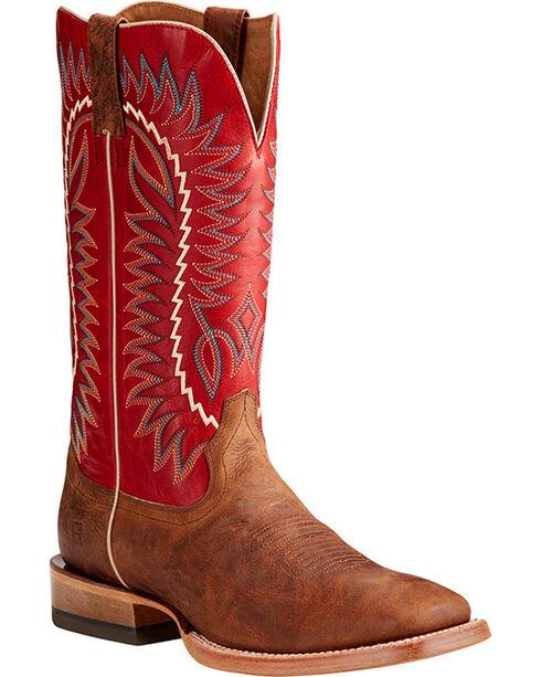 Ariat Men's Tan Relentless Elite Western Boots - Square Toe , Tan, hi-res